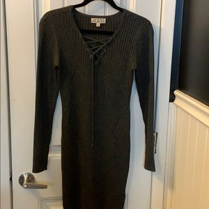 form fitting seater dress